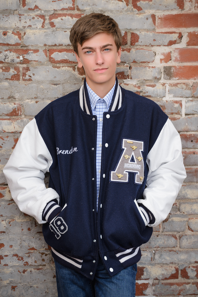 Brendan Air Academy High School Senior Picture 32